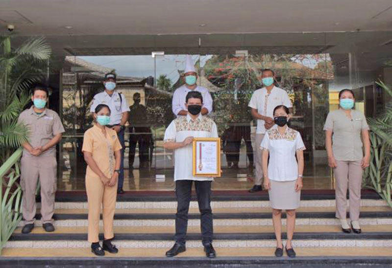 SenS Hotel & Spa Awarded New Era Certification