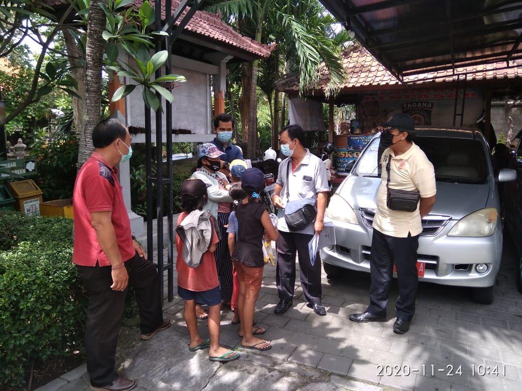 Satpol PP Denpasar Amankan 5 Gepeng