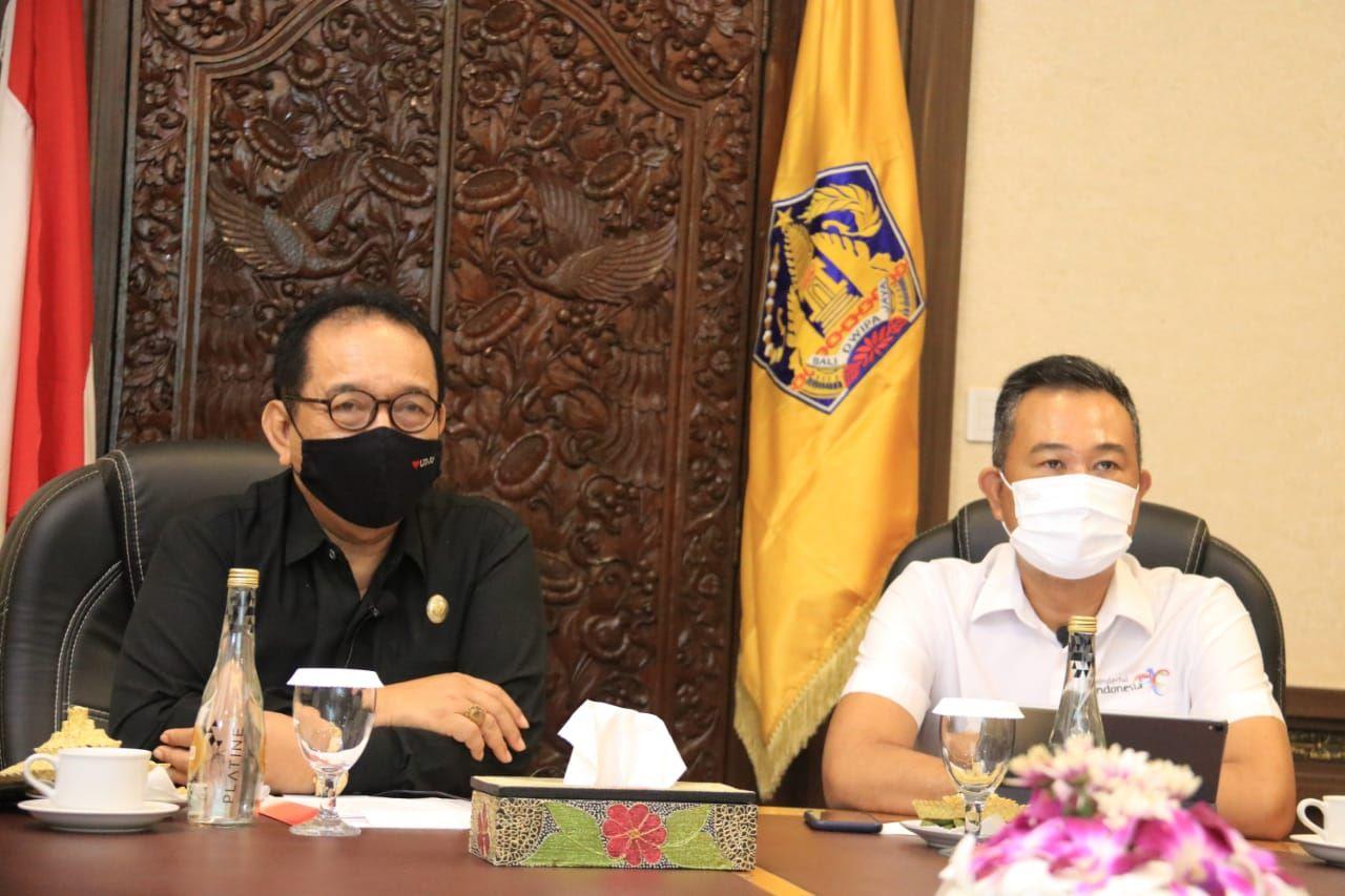 Tiongkok Apresiasi Pemprov Bali Dalam Penanganan Pandemi Covid-19