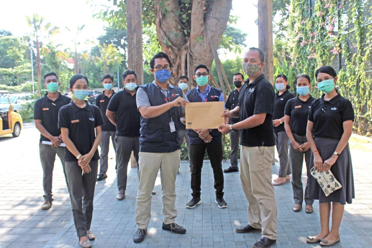 "Sanctoo Suites dan Villas Terima Sertifikat ""Indonesia Care"""