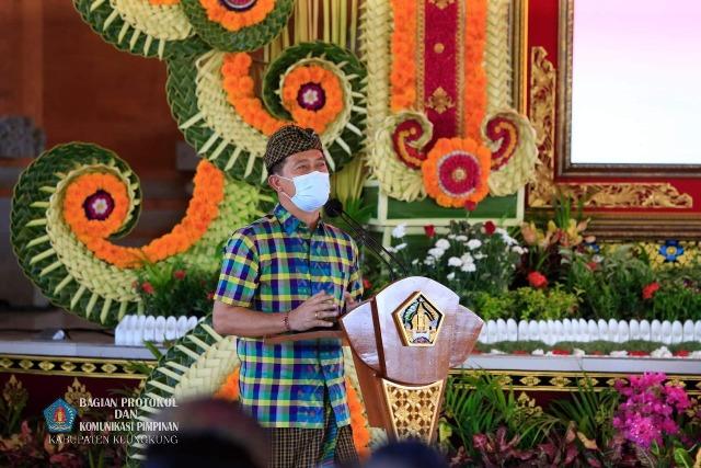Bupati Suwirta Dukung Pembangunan Pusat Kebudayaan Bali di Klungkung