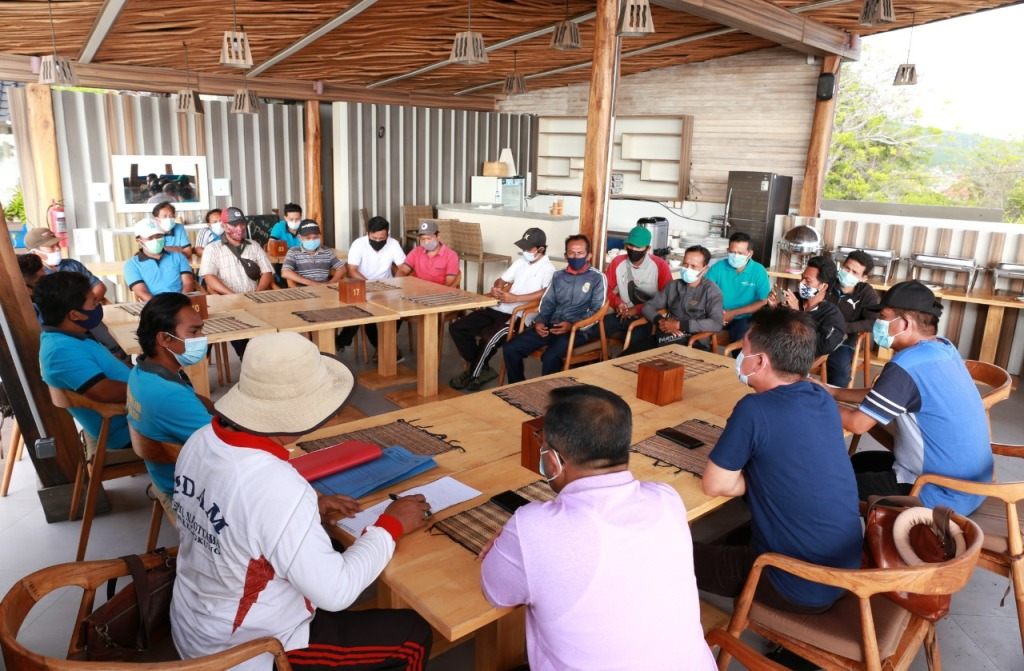 Bupati Suwirta Kecewa, Banyak Reservoir di Nusa Penida Kosong
