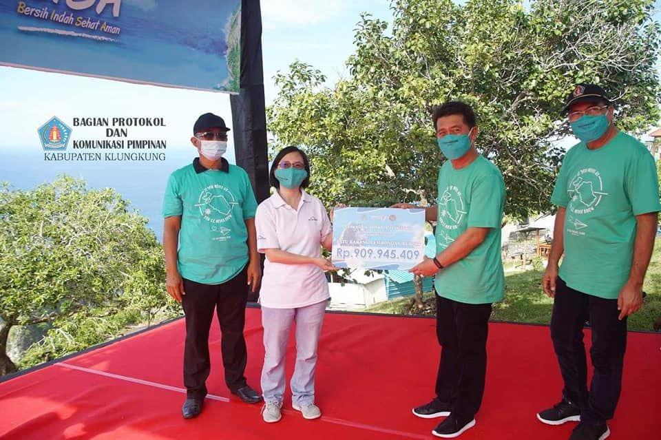 Sebuah Hotel di Nusa Penida Terima Dana Hibah Pariwisata  Rp 16.543