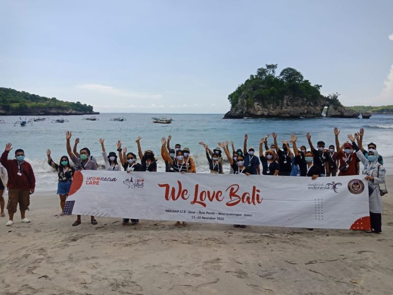 """We Love Bali"" Promosikan Kepariwisataan Pulau Seribu Pura"