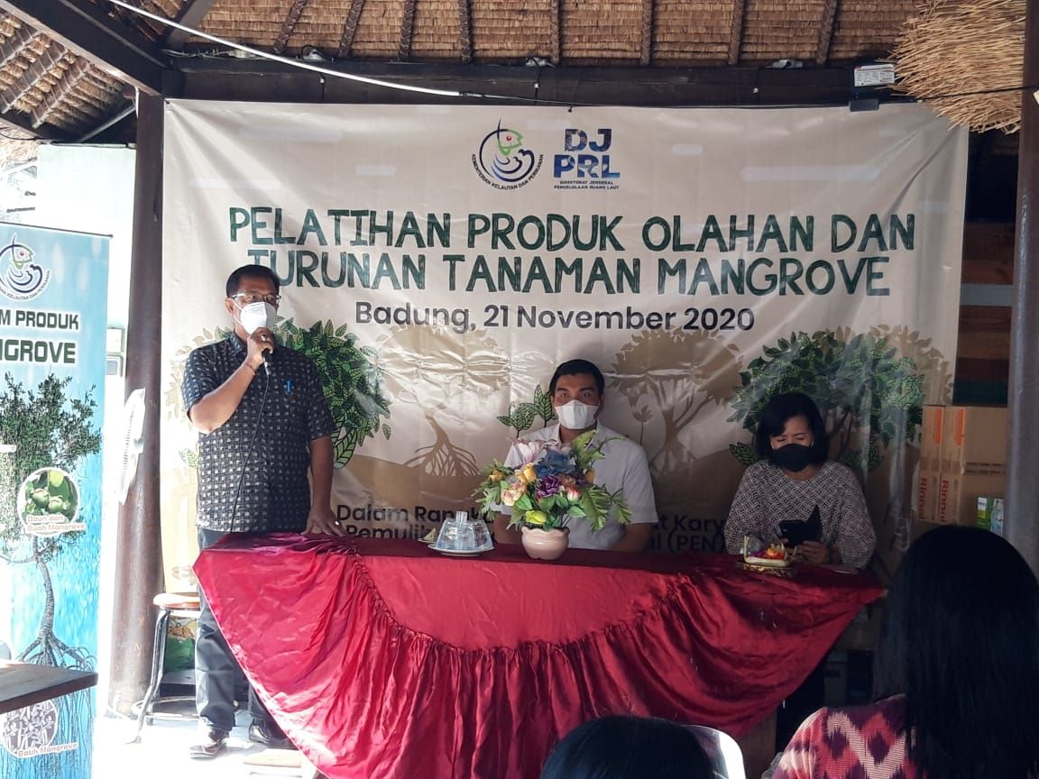 Poklahsar Wana Lestari Buat Produk Olahan Turunan Mangrove