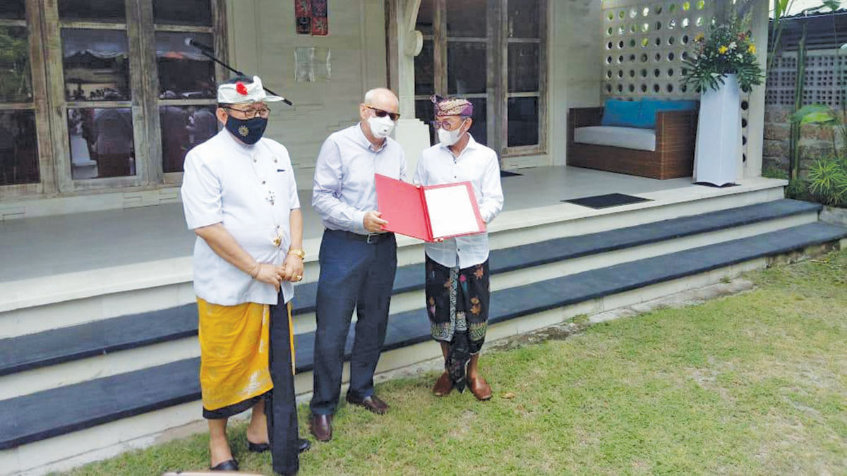 IBG Sidartha Putra Officially Appointed as Czech Republic Honorary Consul