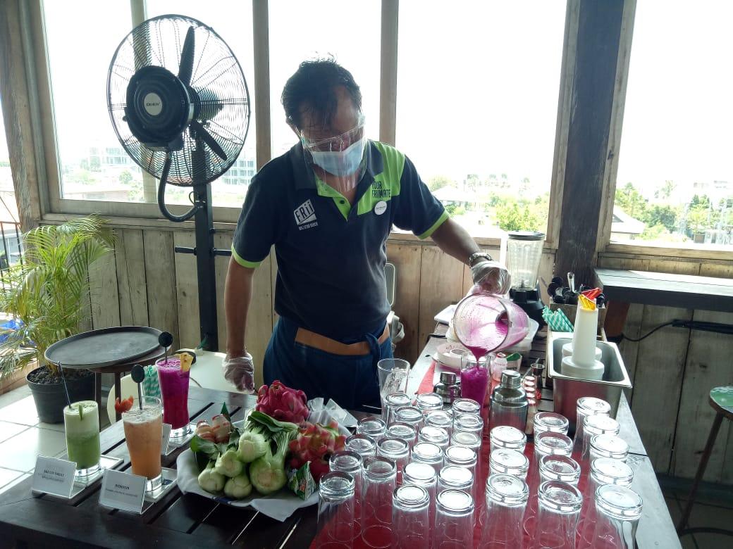 Menikmati Menu Sehat di  FRii Bali Echo Beach Hotel
