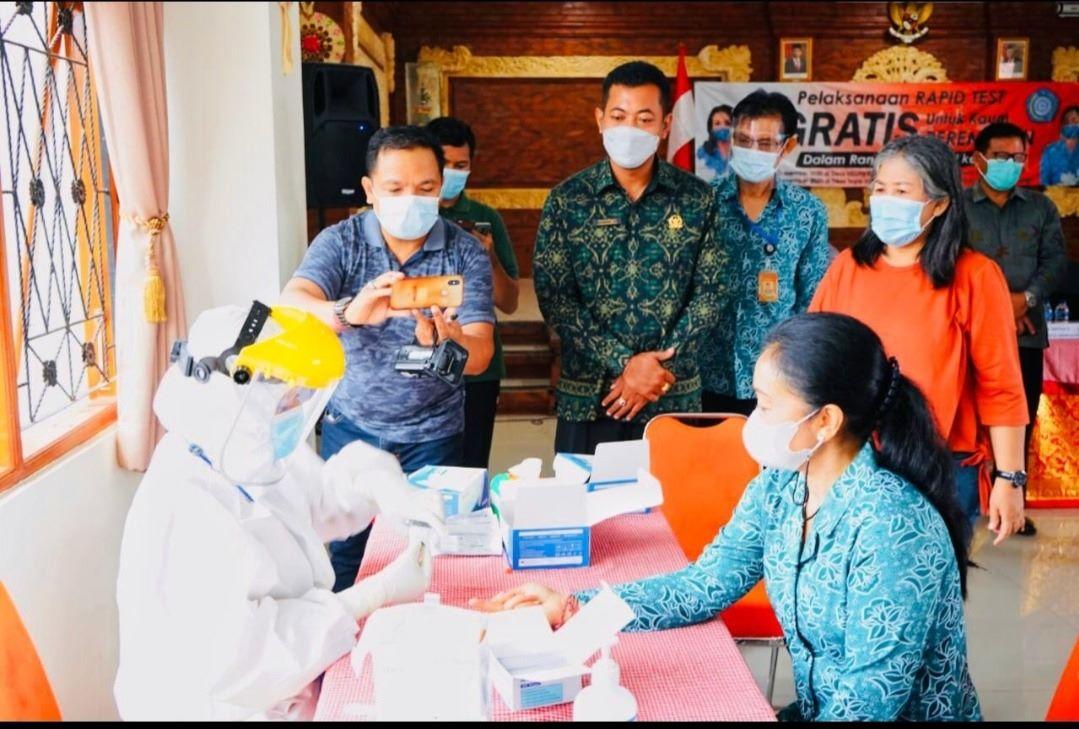Lagi, Denpasar Gelar Rapid Test Gratis