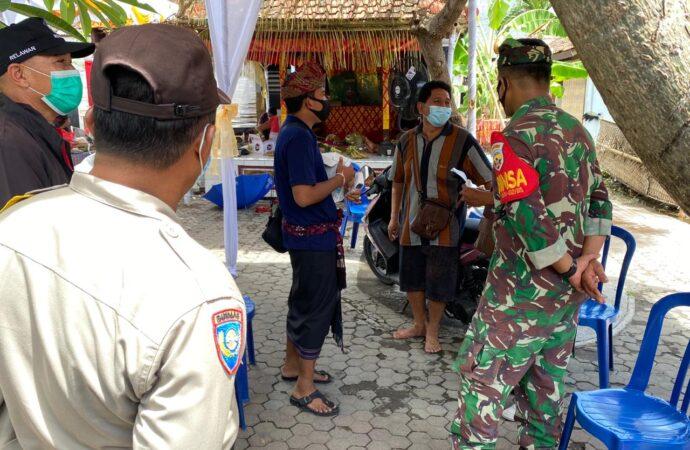 Edukasi Prokes di Banjar Lantang Bejuh