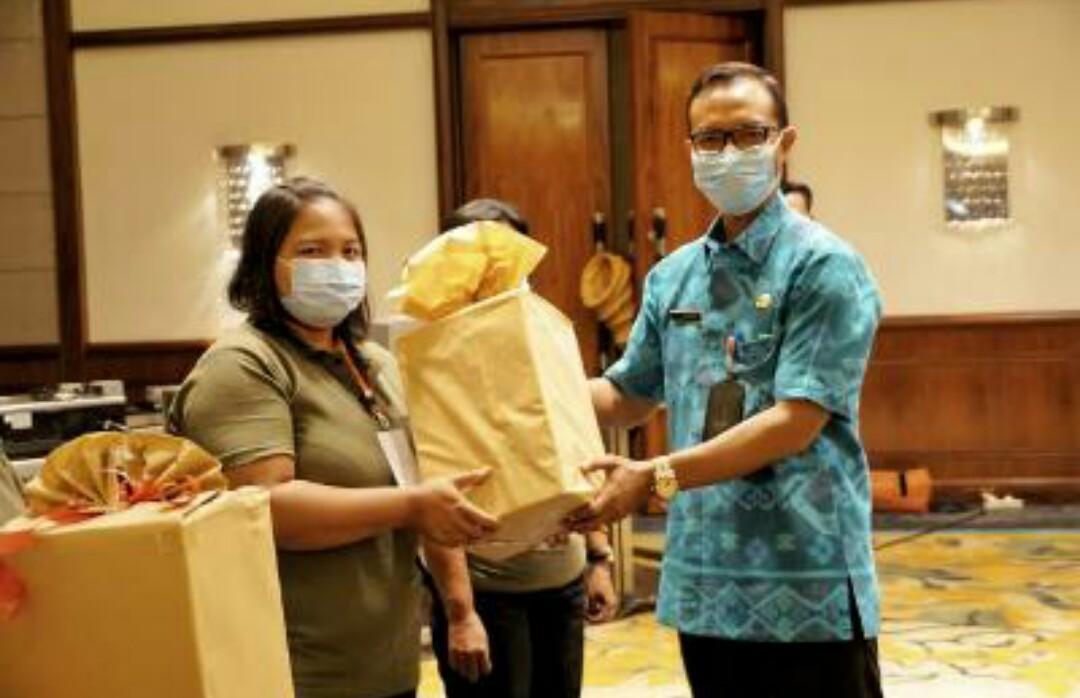 Badung Gelar Pelatihan Pengolahan Hasil Pangan Lokal Bagi KWT Taat Prokes
