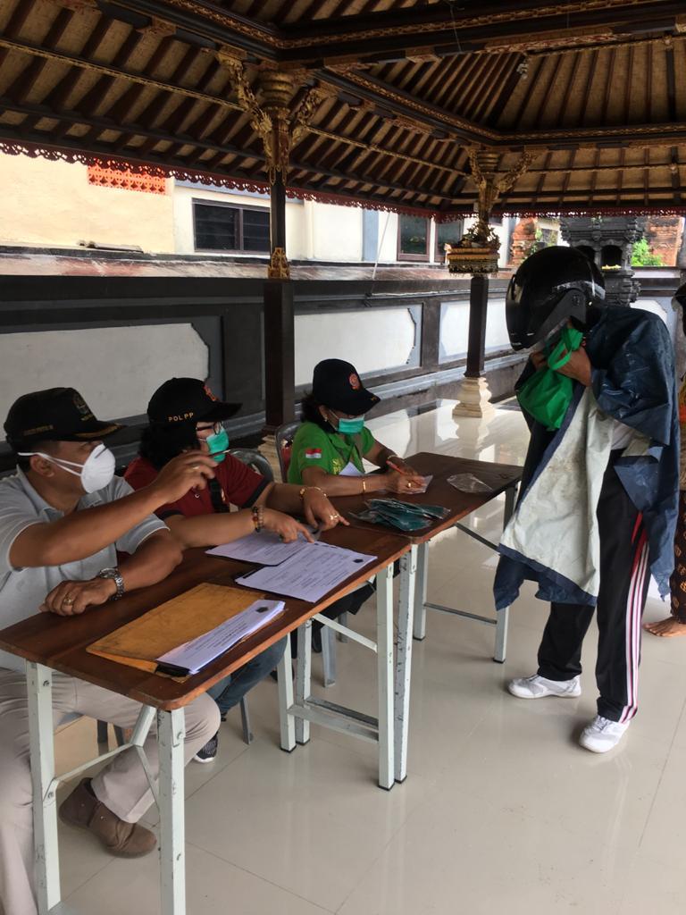 18 Orang Pelanggar Prokes Dijaring Tim Yustisi Kota Denpasar