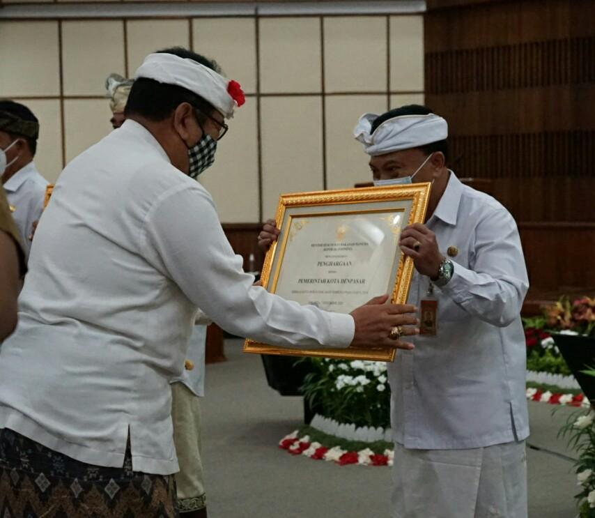 Pemkot Denpasar Raih Penghargaan Kota Peduli HAM Empat Kali Berturut-Turut