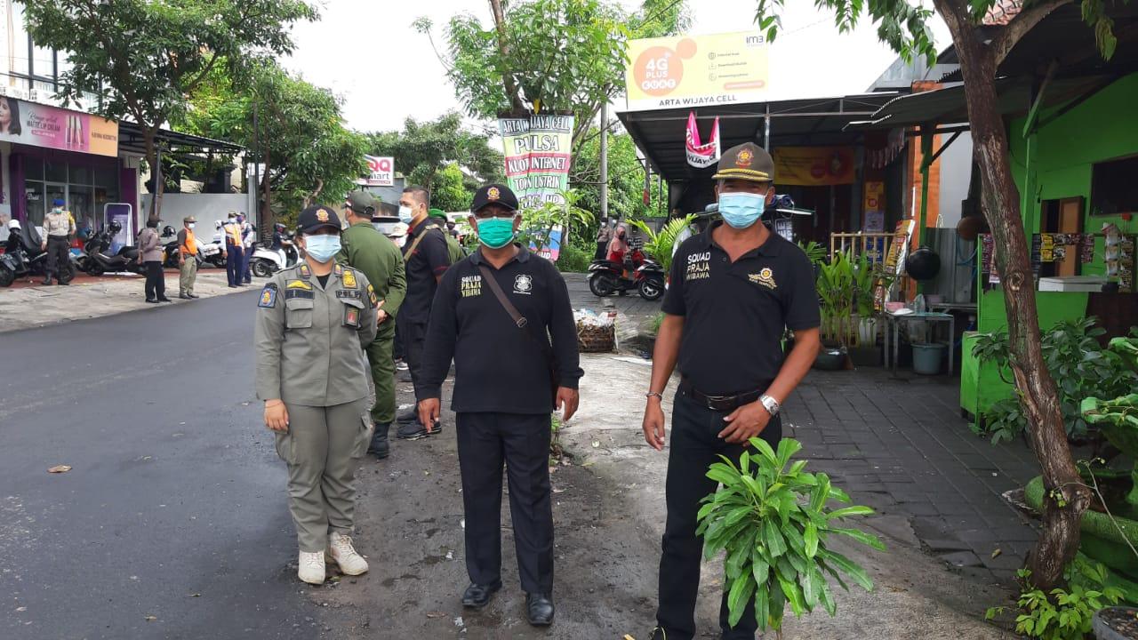 31  Pelanggar Prokes Ditindak di Kelurahan Ubung