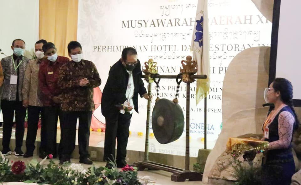 "Dalam Musda PHRI Bali, Insan Pariwisata Diminta Seimbangkan ""Rem"" dan ""Gas"""