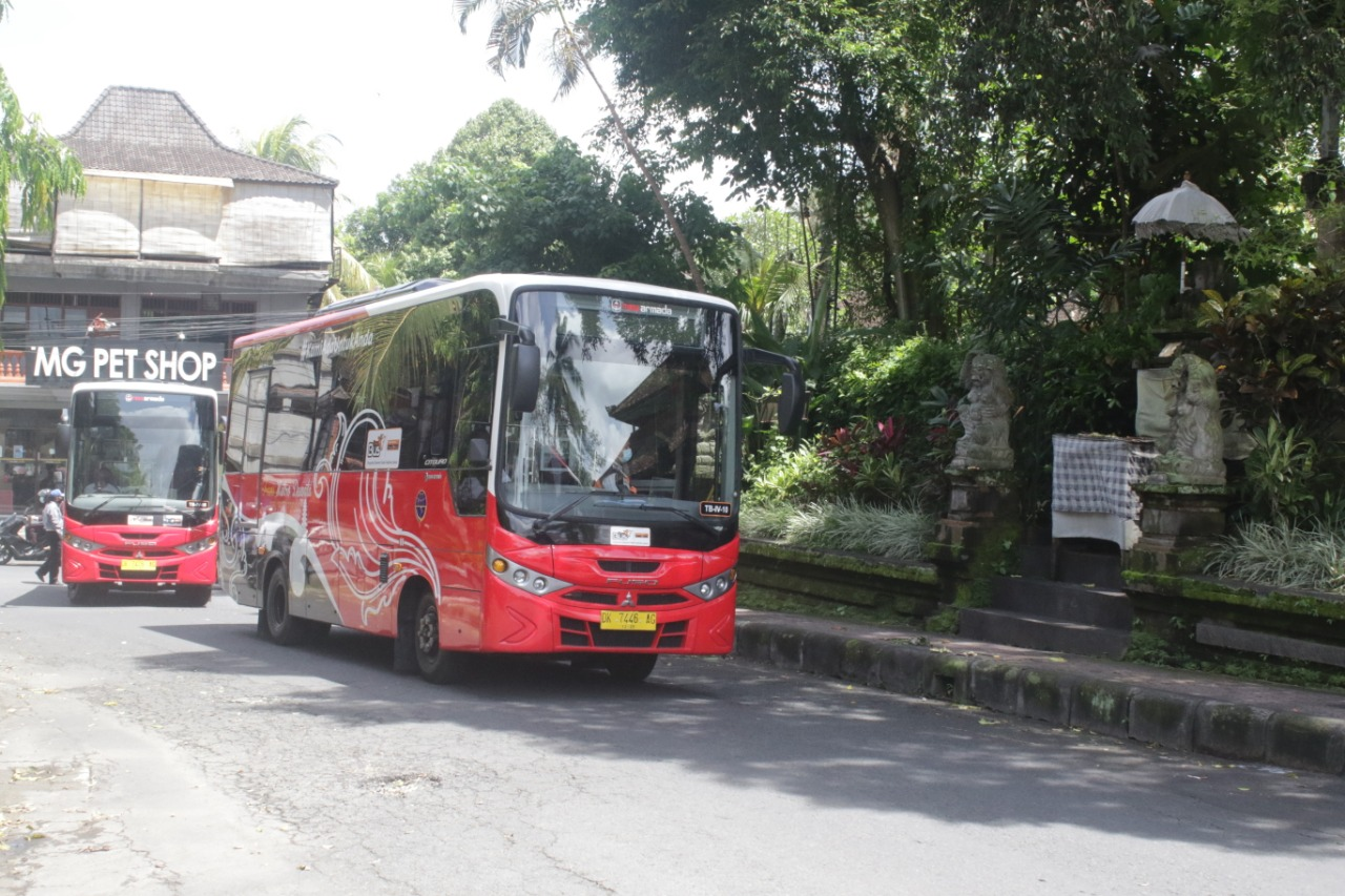 """Teman Bus"" Mantapkan Konektivitas Gianyar-Denpasar"