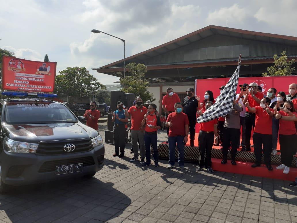 Bupati Mahayastra Salurkan 31.500 Paket Sembako Tahap III