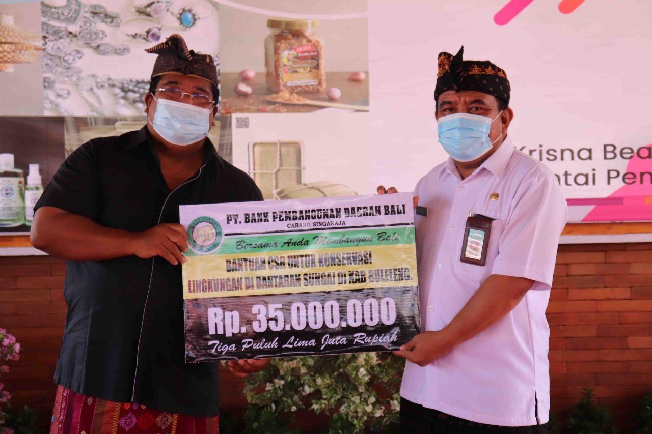 Dana CSR  di Buleleng Untuk Konservasi Lingkungan