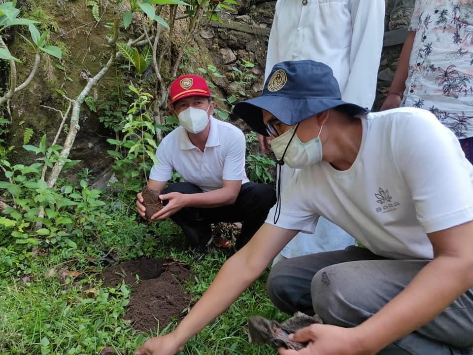 Karangasem Tanam 200 Pohon Langka