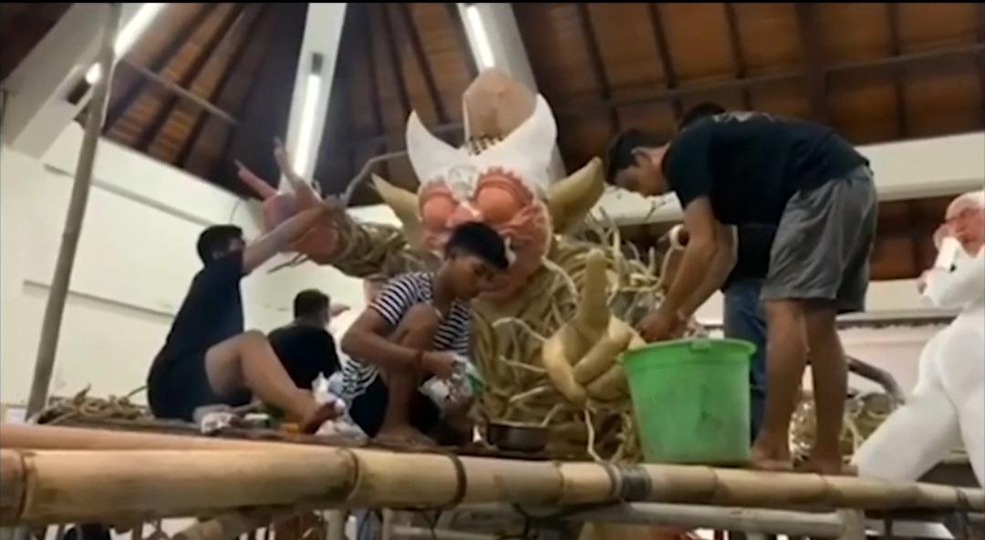 """344 Karya Sekaa Teruna Di """"Pilem Mebarung"""""""