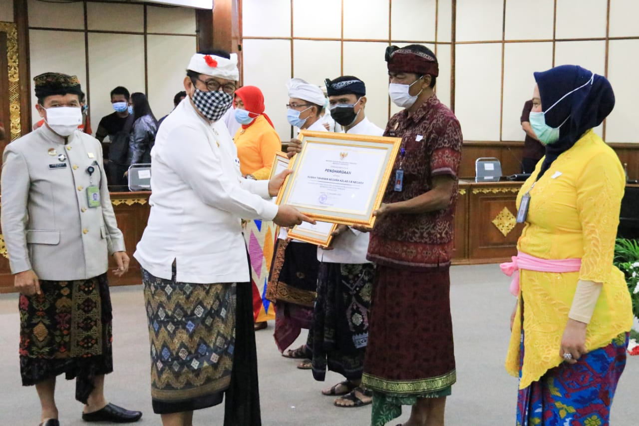 Bali Terima Penghargaan Provinsi Peduli HAM Tahun 2019