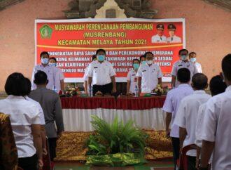 Dua Kecamatan di Jembrana Gelar Musrenbang