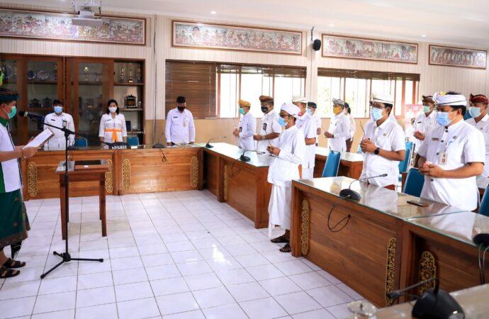 Bupati Suwirta Ingatkan  21 Pejabat di Lingkungan Pemkab Klungkung