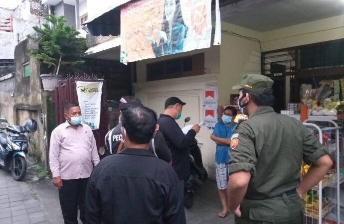 Kelurahan Panjer Sosialisasikan Prokes 3M