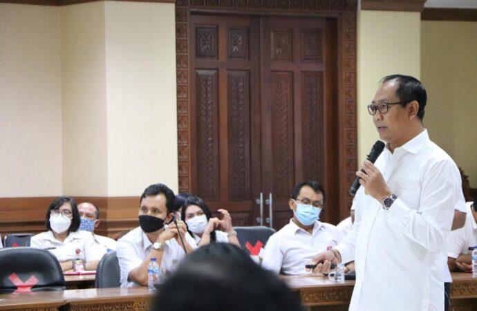 Wabup Suiasa Ikuti Rapat Koordinasi Monitoring PEN