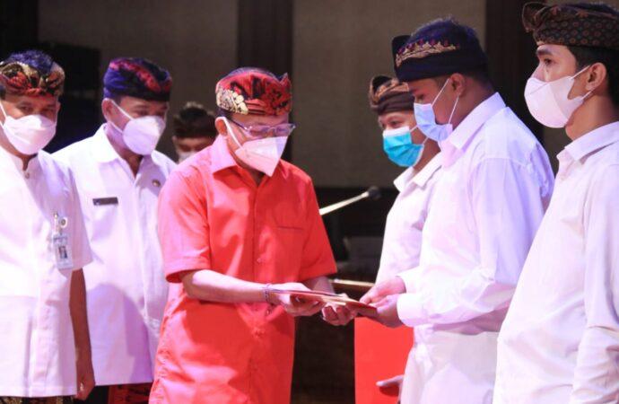 CPNS Diajak Pahami dan Laksanakan Visi Nangun Sat kerthi Loka Bali