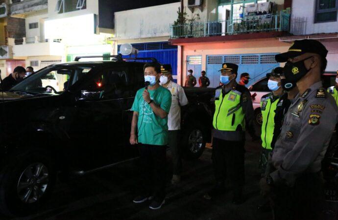 Bupati Suwirta Pantau Pemberlakuan PPKM di Kabupaten Klungkung