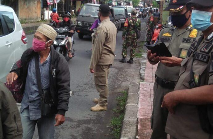 8 Pelanggar Prokes Ditindak