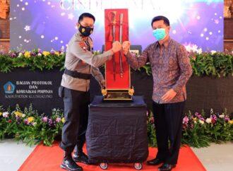 Bupati Klungkung Minta Kapolda Bali Ikut Promosikan Nusa Penida