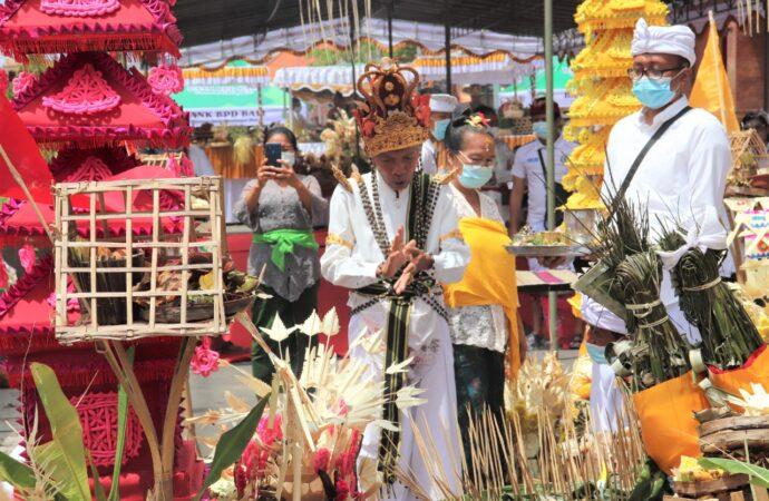 Setelah  Pasar Banyuasri  Dipelaspas, Pedagang segera Ditata