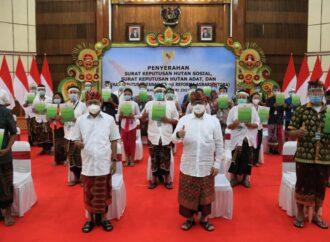 Bali Dijatahi Kelola Hutan Sosial dan Hutan Adat