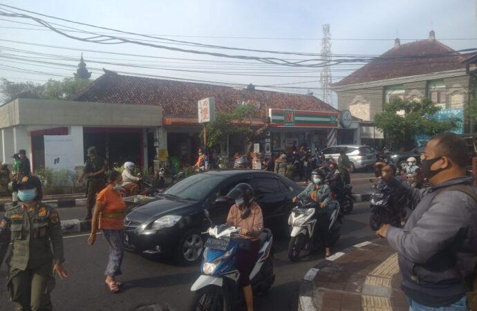 Ini Hasil Razia Penegakkan Prokes di Wilayah Kelurahan Panjer