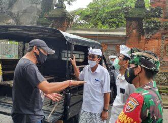 Tim Yustisi Kota Denpasar Pantau Prokes