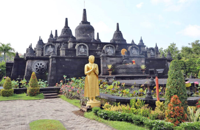 Brahma Arama Buddhist Temple, a Spiritual Tourism in North Bali
