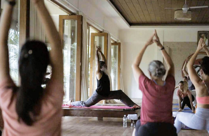 Yoga Activities during Pandemic with Om Ham Retreat Ubud