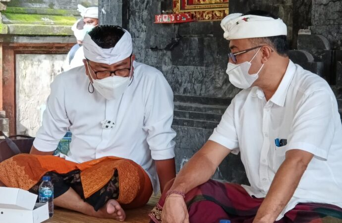 Saat Purnama, Jaya Negara – Agus Arya Wibawa  Resmi Pimpin Denpasar
