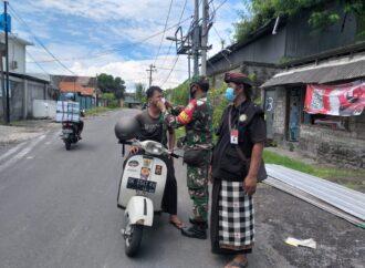 Desa Pemecutan Kaja Gelar Sosialisasi PPKM Mikro