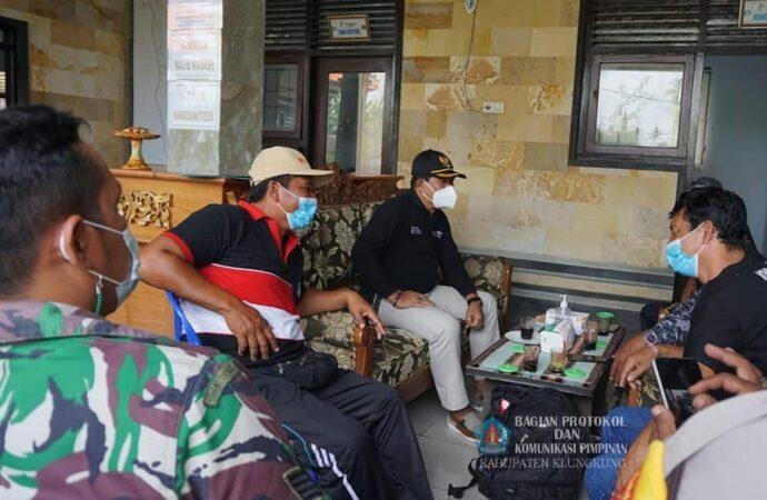 Dimonitor, Kesiapan Satgas Pencegahan Covid-19 Desa Tihingan