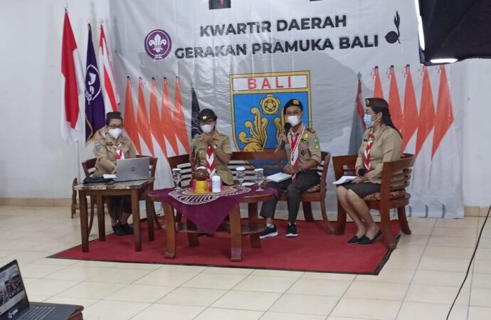 Kwarda Pramuka Bali Gelar Webinar Nasional