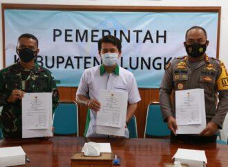 Pemkab Klungkung Jalin Kejasama dengan TNI/Polri
