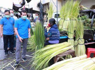 Bupati Suwirta Blusukan ke Pasar Galiran