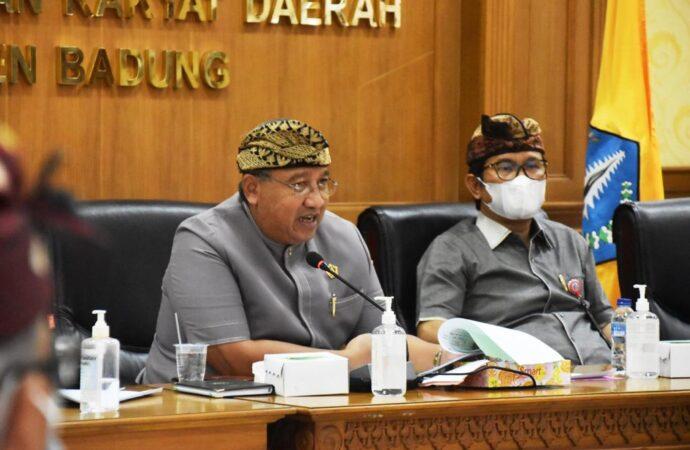 Plh. Bupati Adi Arnawa Apresiasi Langkah DPRD Badung