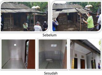 Bupati Suwirta Bedah Rumah dengan Menggunakan Dana Operasional