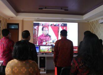 PLH. Bupati I Gede Susila Ikuti Peresmian Penggunaan Endek Bali