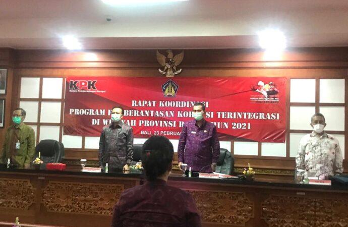 Sekda Bali Terus Mantapkan Upaya Pencegahan Korupsi