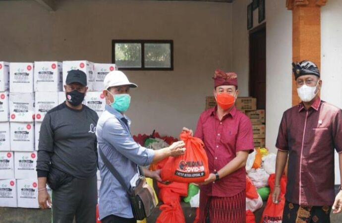 Bupati Gede Dana Apresiasi Penanganan Covid-19 Dusun Magetelu