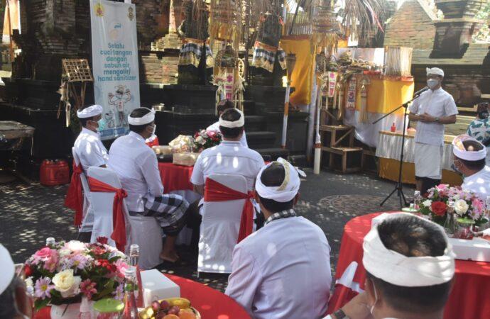 Karya Ngenteg Linggih di Banjar Gadon Kerobokan